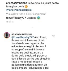 tony arianna instagram