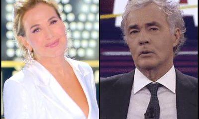 Barbara d'Urso Massimo Giletti scontro