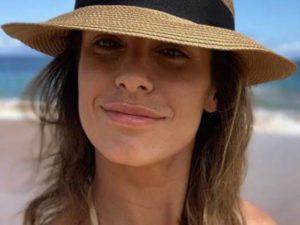 Elisabetta Canalis selfie mare