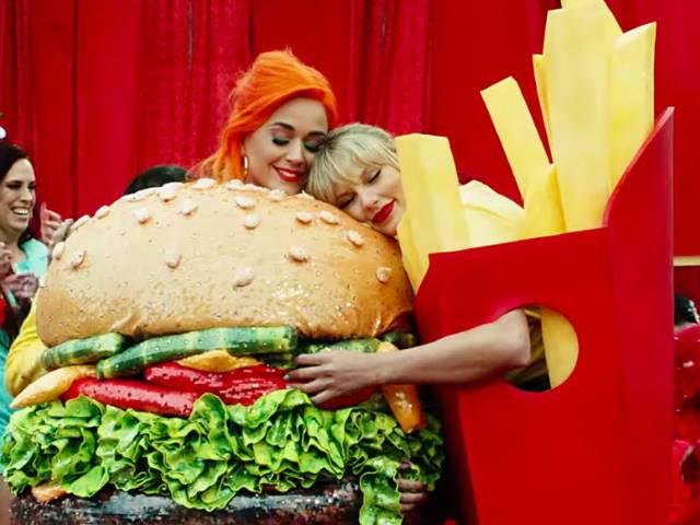 Katy Perry e Taylor Swift video