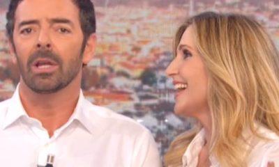 Lorella Cuccarini Alberto Matano La Vita in diretta accorciata