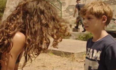 Rosy Abate incontra il figlio Leonardo
