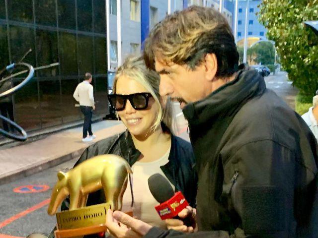 Wanda Nara e l'Inter: nuovo Tapiro d'oro da Striscia la notizia