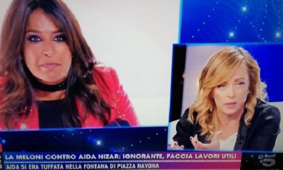aida meloni live canale 5