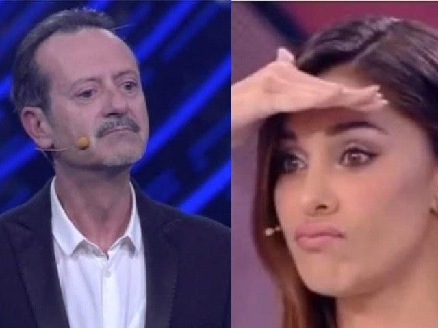 """Papaleo: """"Sanremo, Belen non mi parlava?"""" Ammissione, modella smentita"""
