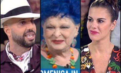 Bianca Guaccero commossa Lucia Bosè