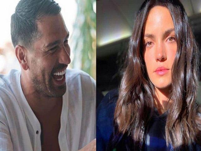 Marco Borriello e Sofia risate
