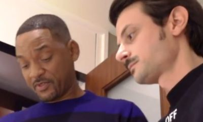 Una foto di fabio rovazzi con will smith