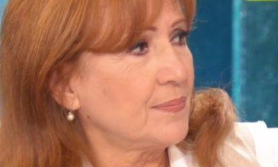 Una foto di primo piano dell'attrice Marina Tagliaferri