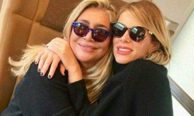 Mara Venier e Alessia Marcuzzi insieme in treno