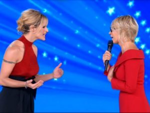 maria de filippi michelle hunziker amici celebrities