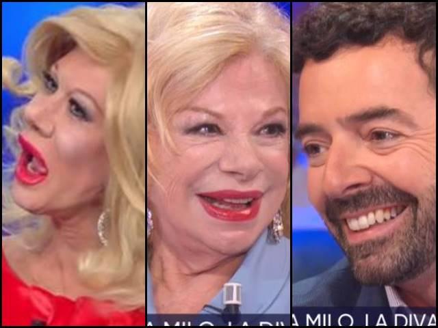 Sandra Milo: gli elogi ad Alberto Matano e le parole per Virginia Raffaele