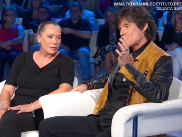 Ronn Moss a Domenica In non nega il flirt con Barbara De Rossi