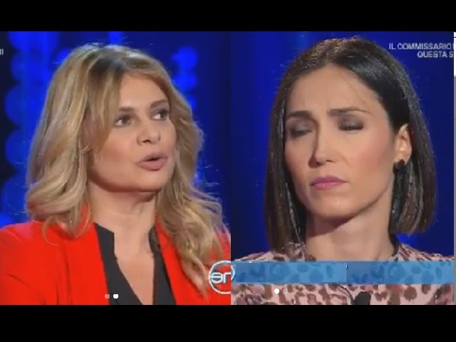 Debora Caprioglio annuncia la fine del suo matrimonio in tv