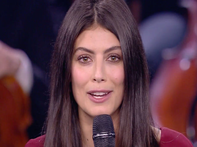 Alessandra Mastronardi, madrina di Unicef per Prodigi, incanta il pubblico