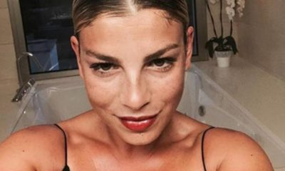 Emma Marrone felice per Fortuna