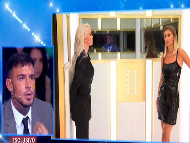 Eva e Mercedesz Henger, il confronto finisce male: Lucas Peracchi lascia furioso l'ascensore