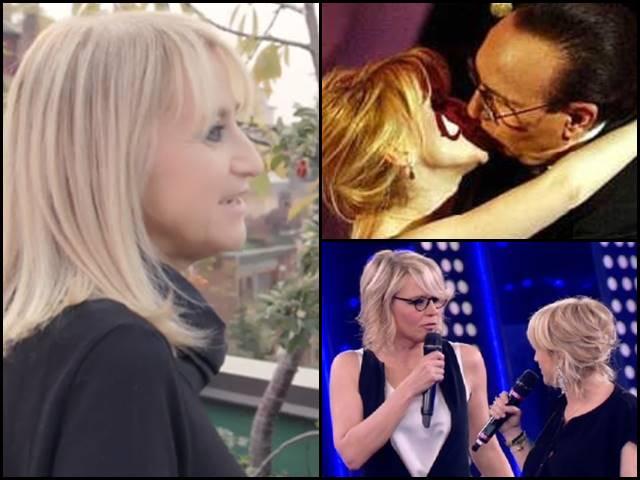 Luciana Litizzetto, bacio con Baudo retroscena su De Filippi