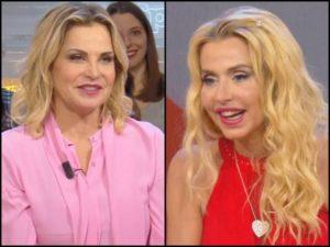 Valeria Marini e Simona Ventura