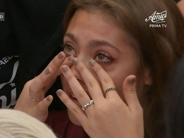 Amici 19 Talisa in lacrime con Andreas: l'avvertimento di Timor