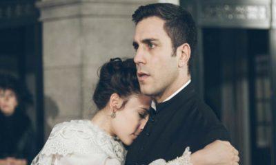 una vita, lucia e telmo annunciano matrimonio