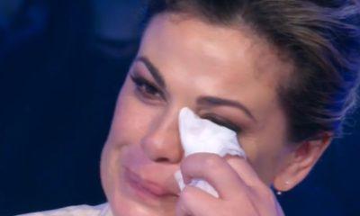 domenica in vanessa incontrada in lacrime