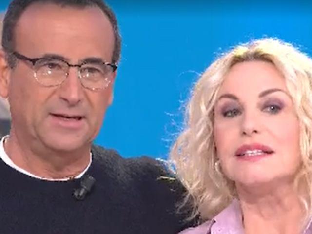 Antonella Clerici imbarazzo Carlo Conti: domanda matrimonio