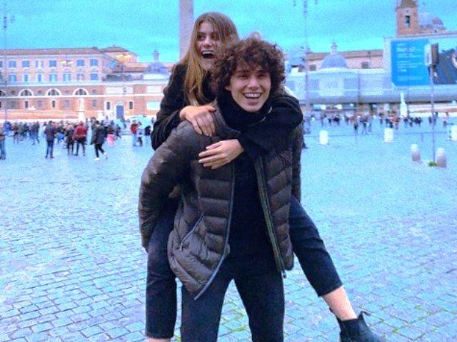 Una foto di Jenny De Nucci e Riccardo De Rinaldis