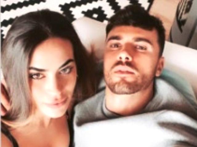 Una foto di Alessandro e Veronica insieme