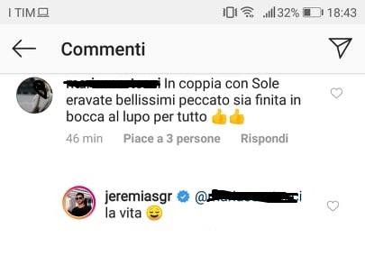 jeremias fan risposta