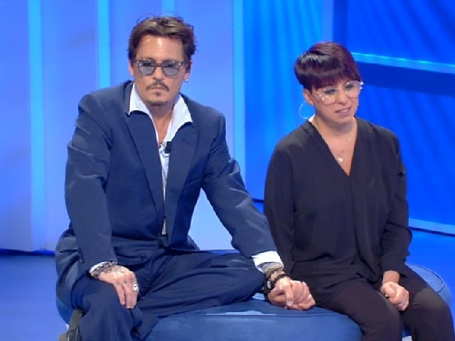 johnny depp canale 5