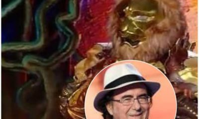 leone cantante mascherato albano