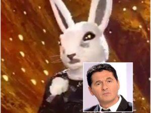 teo mammucari coniglio il cantante mascherato