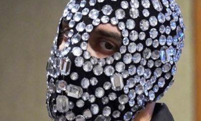 foto junior cally rapper mascherato