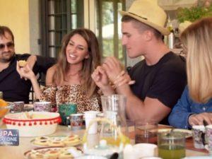 Stefano e Martina insieme Pupa e Secchione
