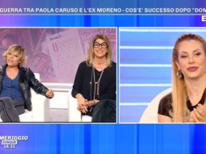 Paola Caruso e Floriana Secondi scontro Pomeriggio 5 cose gravi