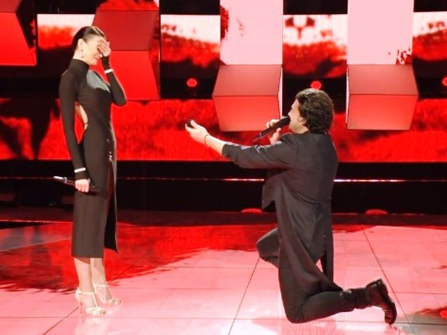 Vittorio Grigolo proposta matrimonio Stefania Seymur