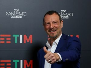 Amadeus Sanremo 2020 presentazione