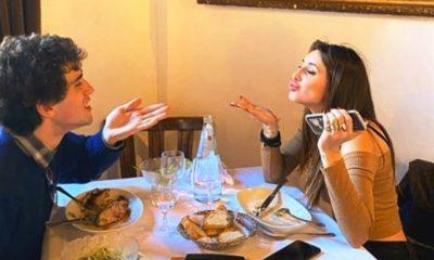 Giovanni De Benedetti e Martina Di Maria insieme