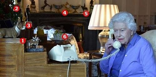 elisabetta II telefono