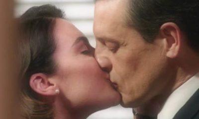 il paradiso delle signore clelia e luciano si baciano