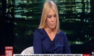 Eleonora Daniele piange