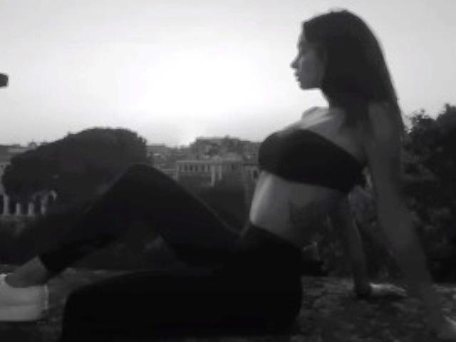 Foto Francesca Tocca in bianco e nero