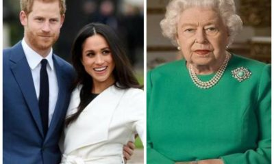 harry, meghan e la regina