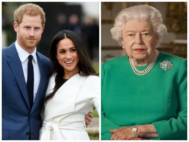 harry, meghan e la regina