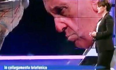 Foto papa Francesco e Lorena Bianchetti in A sua immagine