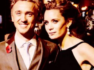 tom felton fidanzata harry potter