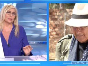 Albano bacchetta Mara Venier: gaffe su Romina e Loredana, imbarazzo in tv