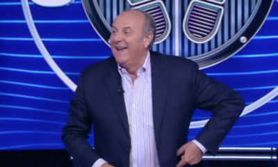 gerry scotti infortunio