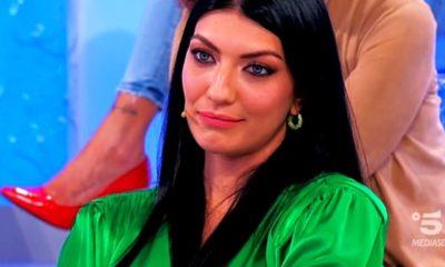 Giovanna Abate abito verde